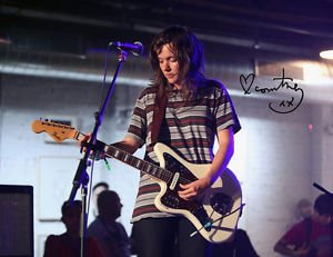 COURTNEY BARNETT SIGNED POSTER PHOTO 8X10 RP AUTOGRAPHED INDIE ROCK
