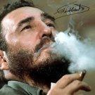 FIDEL CASTRO SIGNED PHOTO 8X10 RP AUTOGRAPHED CUBAN REVOLUTION