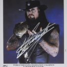 The Undertaker signed 8x10 photo Autographed promo picture wwe wrestling vintage