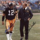 CHUCK NOLL TERRY BRADSHAW SIGNED PHOTO 8X10 RP AUTOGRAPHED PITTSBURGH STEELERS