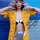 * MELANIE MARTINEZ SIGNED POSTER PHOTO 8X10 RP AUTOGRAPHED  CRY BABY THE VOICE *