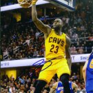 LEBRON JAMES SIGNED PHOTO 8X10 RP AUTO AUTOGRAPHED CLEVELAND CAVALIERS