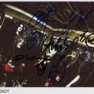 SLIPKNOT FULL BAND SIGNED PHOTO 8X10 RP AUTOGRAPHED COREY TAYLER + ALL MEMBERS
