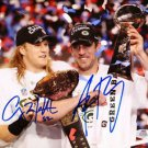 AARON RODGERS CLAY MATTHEWS DUAL SIGNED PHOTO 8X10 RP AUTOGRAPHED GREEN BAY
