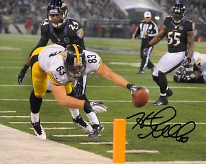 * HEATH MILLER SIGNED PHOTO 8X10 RP AUTO AUTOGRAPHED PITTSBURGH STEELERS