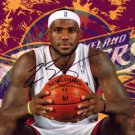 * LEBRON JAMES SIGNED PHOTO 8X10 RP AUTO AUTOGRAPHED CLEVELAND CAVALIERS