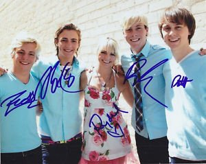 R5 GROUP BAND SIGNED PHOTO 8X10 RP AUTOGRAPHED AUTO LYNCH ROSS