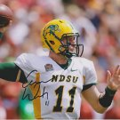 CARSON WENTZ SIGNED PHOTO 8X10 RP AUTO AUTOGRAPHED NORTH DAKOTA BISON