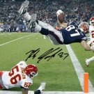 ROB GRONKOWSKI SIGNED PHOTO 8X10 RP AUTOGRAPHED * NEW ENGLAND PATRIOTS