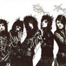 BLACK VEIL BRIDES FULL BAND GROUP SIGNED PHOTO 8X10 RP AUTOGRAPHED ANDY BIERSACK