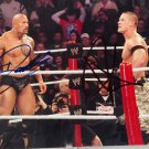 THE ROCK DWAYNE JOHNSON JOHN CENA SIGNED PHOTO 8X10 RP AUTOGRAPHED WWE WRESTLING