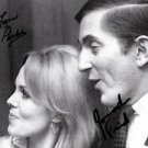 RARE DUAL SIGNED PHOTO LARA PARKER & JONATHAN FRID 8X10 RP DARK SHADOWS AUTO