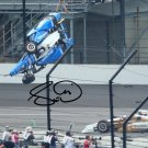 SCOTT DIXON SIGNED PHOTO 8X10 RP AUTOGRAPHED INDY 500 CRASH !