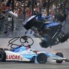 * SCOTT DIXON SIGNED PHOTO 8X10 RP AUTOGRAPHED INDY 500 CRASH !