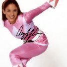 AMY JO JOHNSON SIGNED PHOTO 8X10 RP AUTOGRAPHED PINK POWER RANGER KIMBERLY