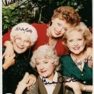 BETTY WHITE SIGNED PHOTO 8X10 RP AUTOGRAPHED GOLDEN GIRLS FULL CAST