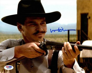 VAL KILMER SIGNED PHOTO 8X10 RP AUTOGRAPHED TOMBSTONE DOC HOLIDAY