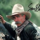 SAM ELLIOTT SIGNED PHOTO 8X10 RP AUTOGRAPHED TOMBSTONE