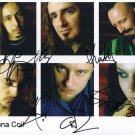 * LACUNA COIL FULL BAND GROUP SIGNED PHOTO 8X10 RP AUTOGRAPHED CRISTINA SCABBIA