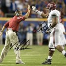 NICK SABAN TERRENCE CODY SIGNED PHOTO 8X10 RP AUTOGRAPHED ALABAMA FOOTBALL !