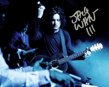 * JACK WHITE SIGNED PHOTO 8X10 RP AUTOGRAPHED ** THE WHITE STRIPES