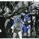 BATMAN FULL CAST SIGNED PHOTO 8X10 RP AUTOGRAPHED ADAM WEST BURT WARD + ALL