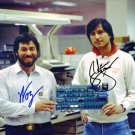 STEVE WOZNIAK & STEVE JOBS SIGNED PHOTO 8X10 RP AUTOGRAPHED APPLE