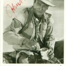 JOHN WAYNE SIGNED PROMO PHOTO 8X10 RP AUTOGRAPHED PICTURE