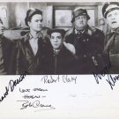 HOGANS HEROES FULL CAST SIGNED PHOTO 8X10 RP AUTOGRAPHED ALL MEMBERS RARE