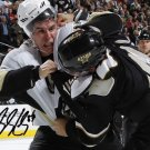 SIDNEY CROSBY SIGNED PHOTO 8X10 RP AUTO AUTOGRAPHED PITTSBURGH PENGUINS FIGHT