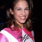 * AMY JO JOHNSON SIGNED PHOTO 8X10 RP AUTOGRAPHED PINK POWER RANGER KIMBERLY *