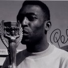 PELE SIGNED PHOTO 8X10 RP AUTOGRAPHED SOCCER LEGEND