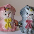Cats in Bows Salt & Pepper Shakers