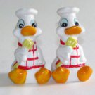 Ducks in Chef Hats Salt & Pepper Shakers
