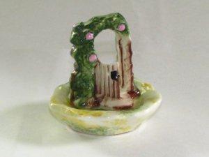 Miniature Garden Gate Salt & Pepper Shakers
