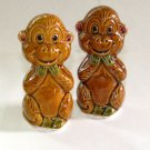 Whimsy Monkey Salt & Pepper Shakers