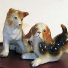 Adorable Puppies Playing Salt & Pepper Shakers