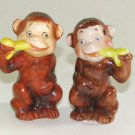 Monkey Business Salt & Pepper Shakers