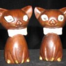 Squeaker Holographic Cats Salt & Pepper Shakers