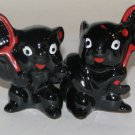 Squirrels Playing Tennis Salt & Pepper Shakers
