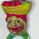 Calypso Lady Wall Plaque