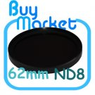 NEW 62mm ND8 Filter Neutral Density ND 8 for DSLR DC Camera Lens