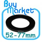 Adapter Filter Lens Step Up Ring 52-77mm 52mm to 77mm