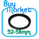 Adapter Filter Lens Step Up Ring 52-58mm 52mm to 58mm