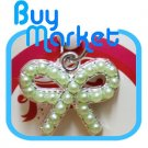 GREEN Diamond RIBBON Anti Dust Earphone Plug Stopper for iPhone 4 4S iPad Galaxy