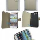 NEW White Stand Wallet Leather Case Flip Cover FOR SAMSUNG Galaxy S3 i9300 S III