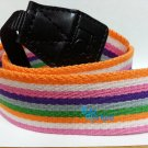 DSLR Camera Rainbow Style Colorful Shoulder Neck Belt Strap Grip Straps #45