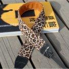 Leopard DSLR Camera Colorful Soft Nap Shoulder Neck Belt Strap Grip Straps #49