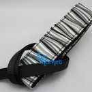 DSLR Camera Black White Wave Colorful Shoulder Neck Belt Strap Grip Straps #51
