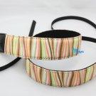 DSLR Camera Orange Wave Style Colorful Shoulder Neck Belt Strap Grip Straps #55
